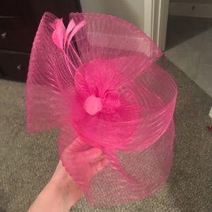 Other - Pink fascinator